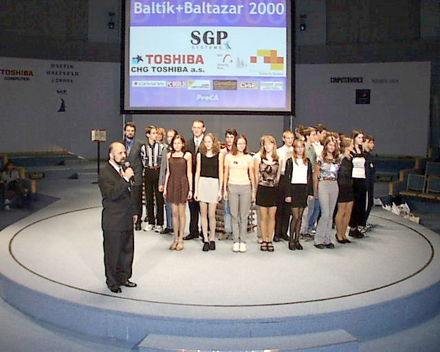 Finalists of Baltie + Baltazar 2000 Contest