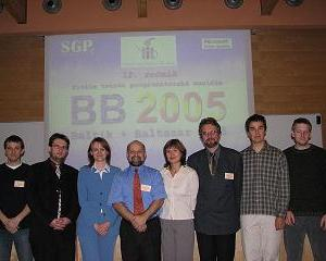 Organizers of Baltie + Baltazar 2005 Contest